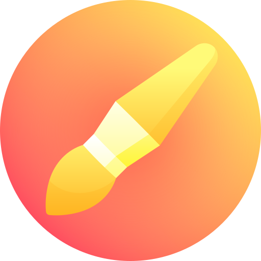 A folder that shows the process for brush an ordering site